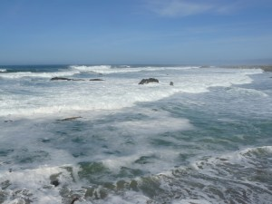 Pacific Ocean on Mendocino Coast Fort Bragg