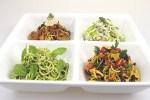 organic vegetable pastas