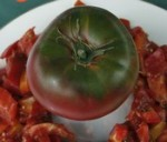 Black sea man tomatoes