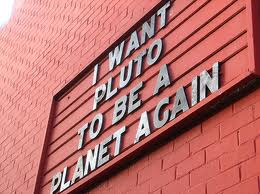Pluto for planet