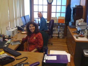cherie and dan office