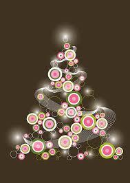 pink retro tree