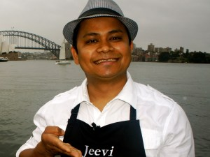 Jeevi, the laughing chef